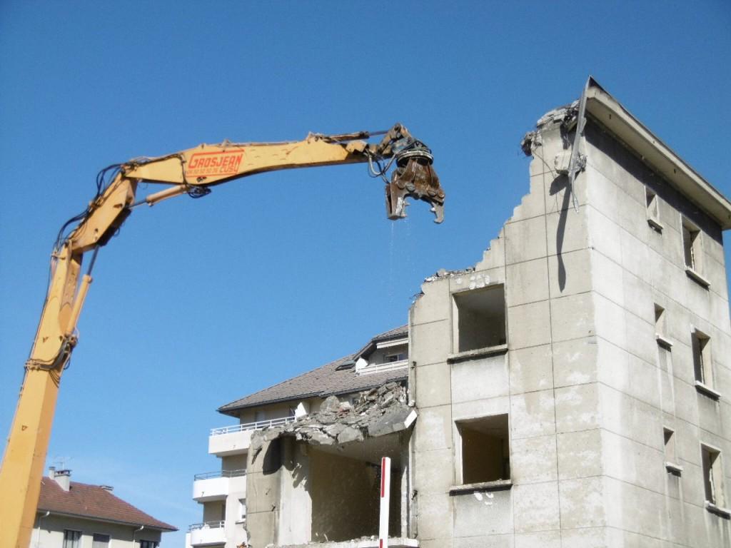 Entreprise de demolition a Annecy