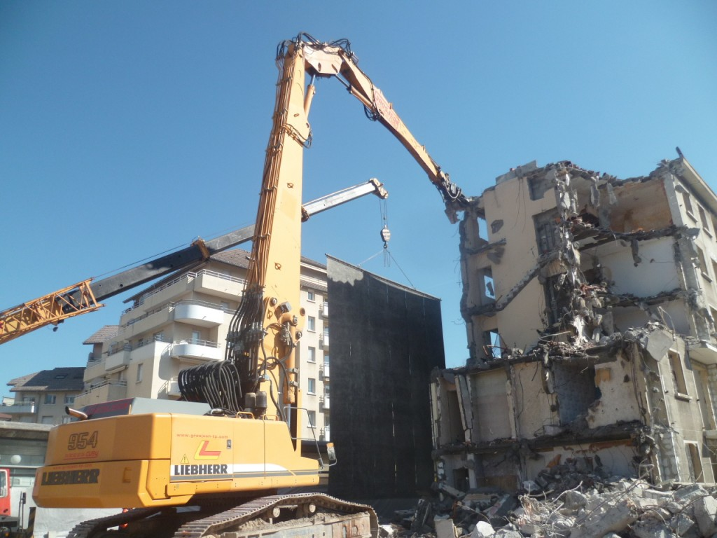 Entreprise de demolition a annemasse
