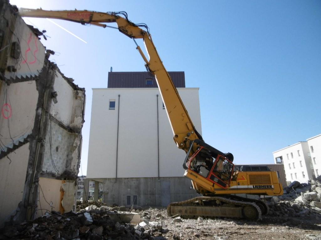 Entreprise de demolition en Savoie