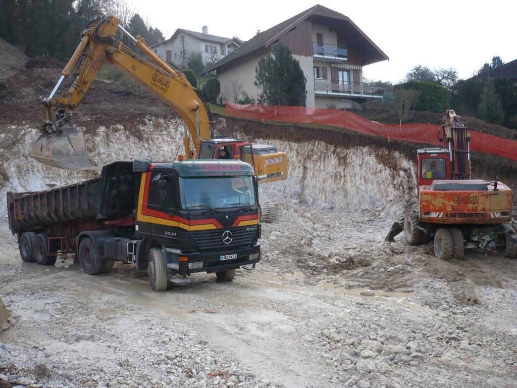 Entreprise de terrassement a annecy