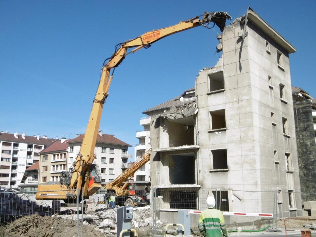 Entreprise demolition annecy 74