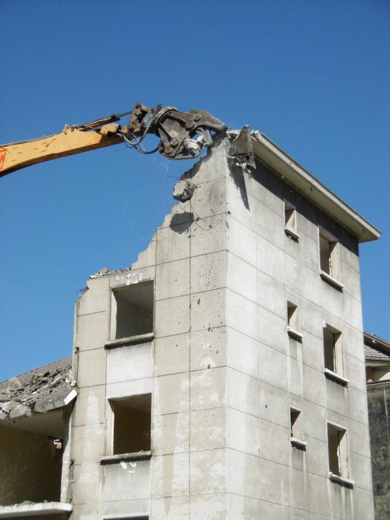 Entreprise demolition en Savoie aix les bains